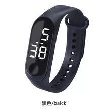 Factory supply waterproof Mi 3 generation led bracelet watch led touch sports fashion male and female students electronic watch