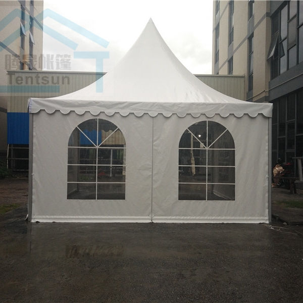 High quality 5x5 m outdoor promotional exhibition event party car show pagoda tents