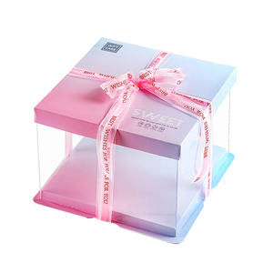 cake cylinder packaging clear roll cake box clear box containers for cakes
