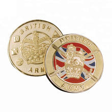 Custom Made Collectible British Army Challenge Coins UK
