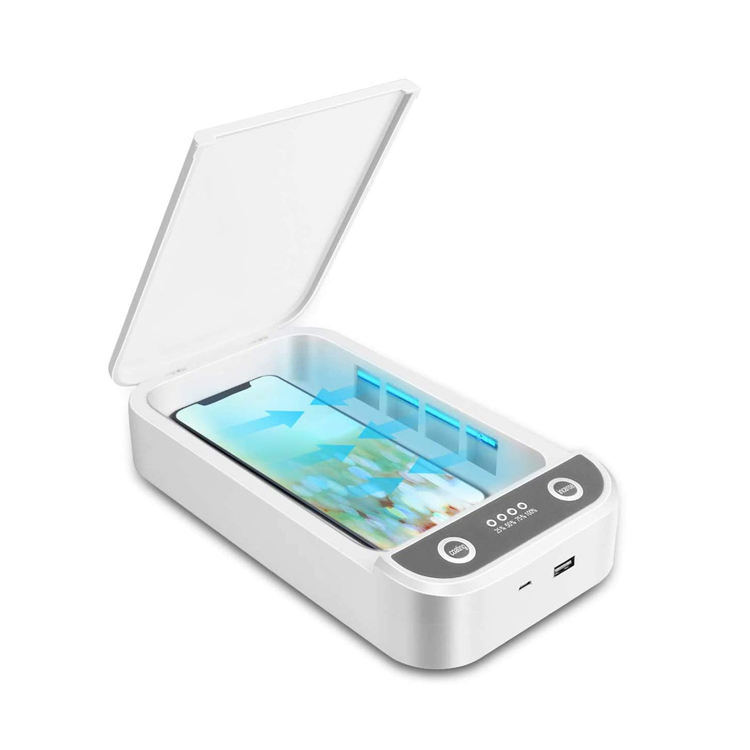 쥬얼리 칫솔 시계 클리너 개인 소독제 소독기 휴대용 핸드폰 자외선 살균기 상자
