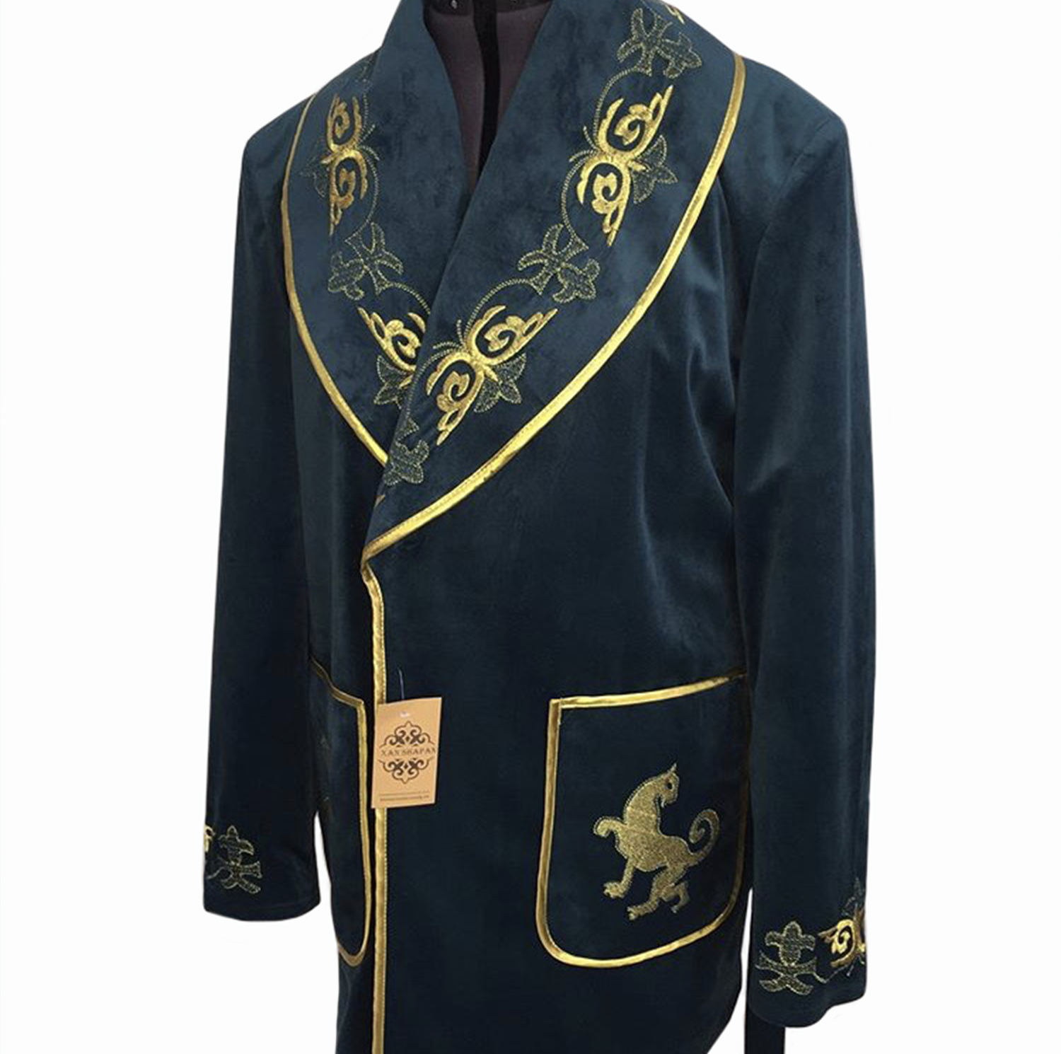 National Chapan Robe wholesale Custom Winter Men Keep Warming Clothing
