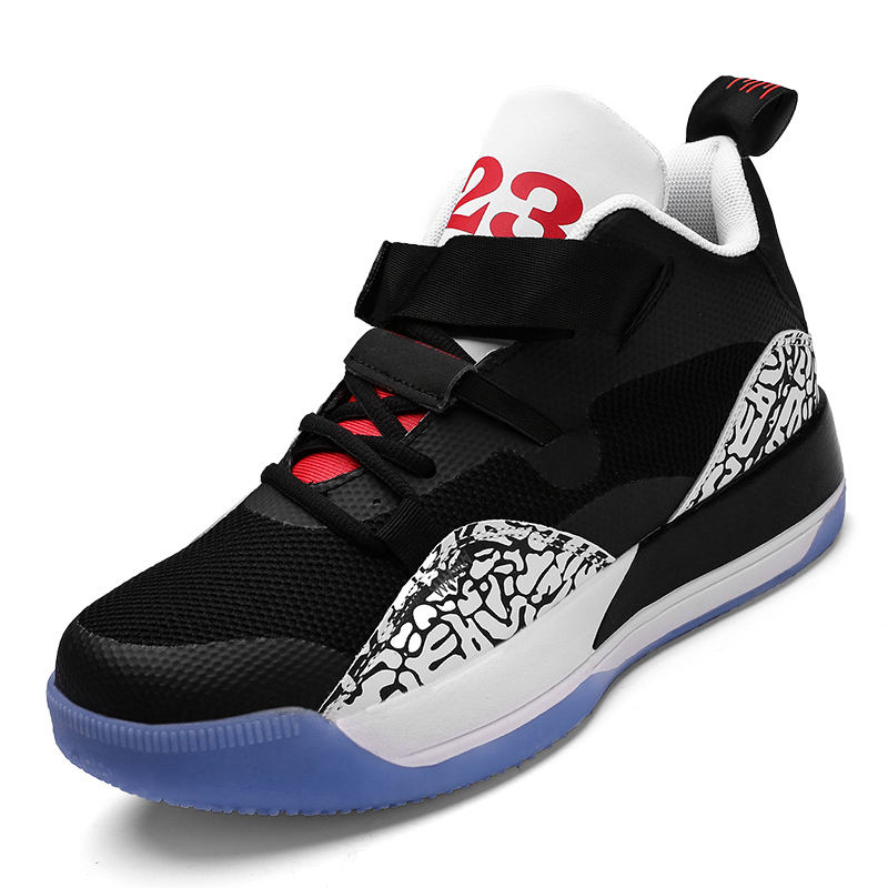 2020 men's and women's all-around high top basketball shoes for middle school students, casual Korean Trend tennis shoes