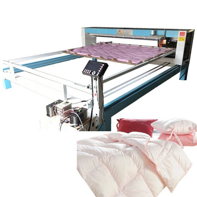 Single Needle one head Computer Controlling Movable Single Needle Longarm Servo Quilting Machines Comforter Making Machine