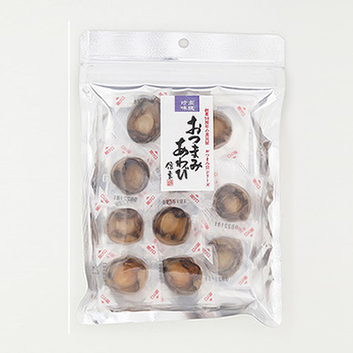 Japanese chewy instant dried sea abalone meat without shell