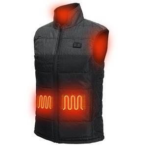 Cheap Winter Men's Vest and Waistcoat usb rechargeable heating Motorcycle Heated Vest