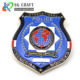 Free Design Custom Shape Police Organization Activity Badge With Emblem