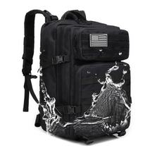 Outdoor Camping Woodland Camo Hunting Hiking Waterproof Survival Army Bag Military Men Tactical Backpack