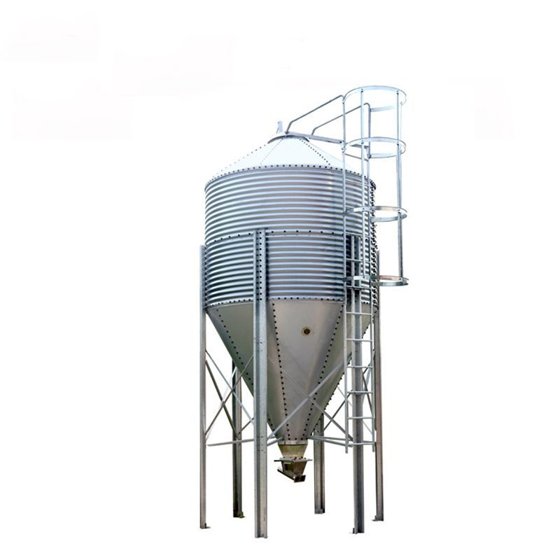 sawdust storage silo making machine