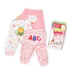 Autumn newborn Infant soft cotton trousers casual cute long pants for girls baby