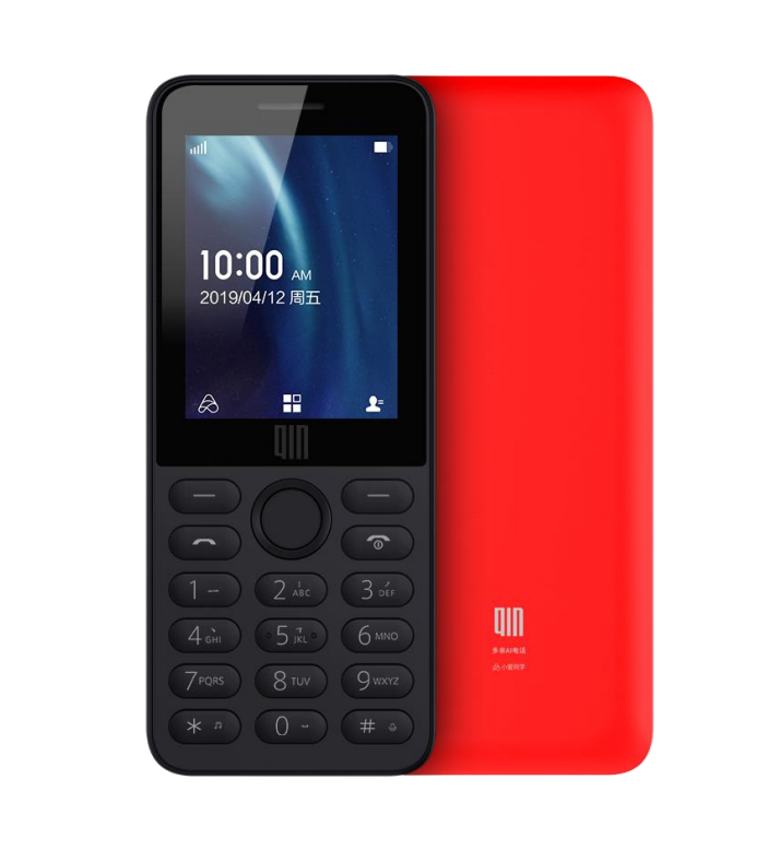 For Xiaomi DUOQIN QF9 4G Network Wifi 1820mAH BT 4.2 Infrared Remote Control Dual SIM Card Feature Phone