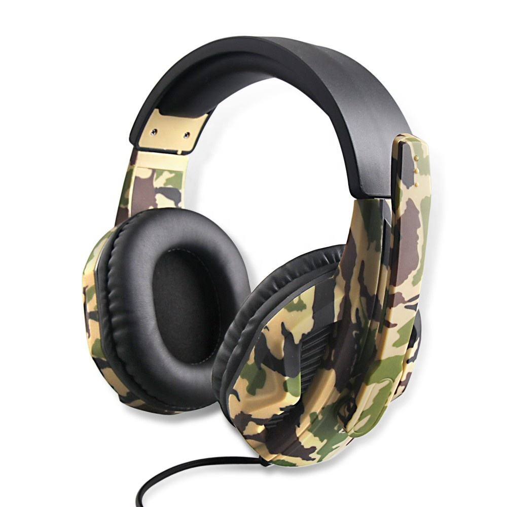 OIVO le plus récent Camouflage Casque Gaming IV-X1012 pour PS4/Xbox one/Xbox 360/<span class=keywords><strong>Nintendo</strong></span> Switch/PC