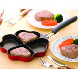 SUGIYAMA Four Leaf Clover IH Compatible Muffin Aluminum Alloy Pots And Nonstick Fry Pan Cookware Sets