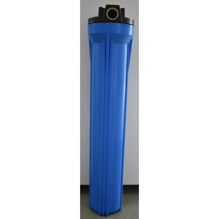 20 Inch reverse osmosis water pretreatment blue water filter housing