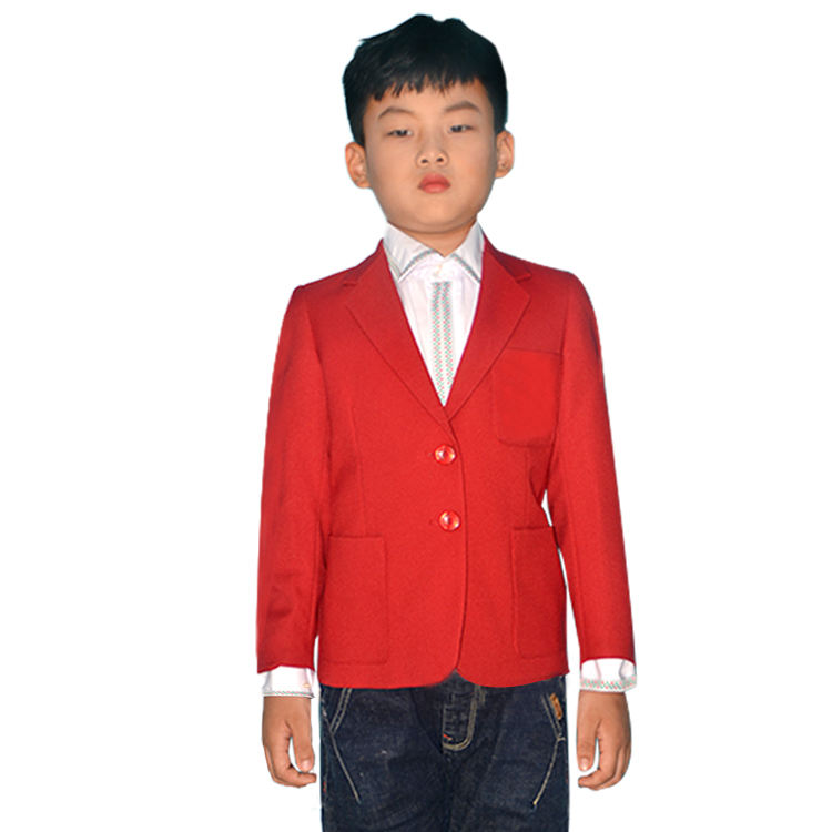 High quality OEM boys and girls fashion British uniforms boys formal suits boys suits