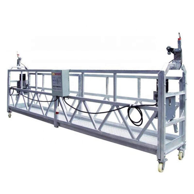 New type electric construction gondola parts suspended platform