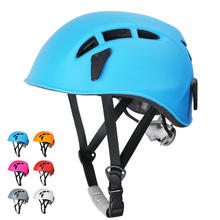 One Stone Mountain Outdoor Personal Protective Safety Hard Hat Customized Adjustable Rock Climbing Helmet
