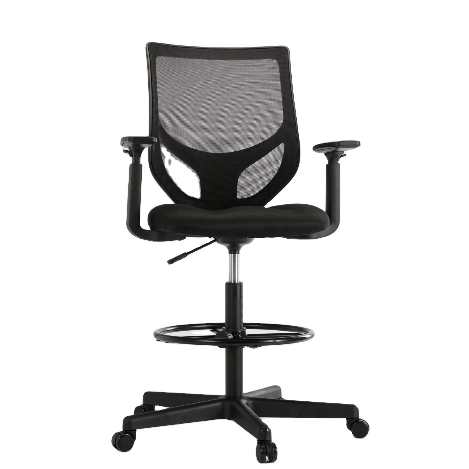 360 degree swivel steelcase world convenience furniture metal base mesh back office chair