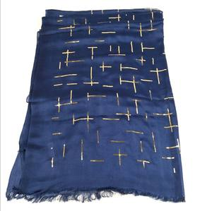 Hot products unique desgin frayed edge india poly cotton scarves scarf and shawl