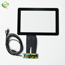 Capacitive Touch Screen Panel USB Ilitek Controller Board Touchscreen with 6H Tempered Glass P-cap 10.1 Inch