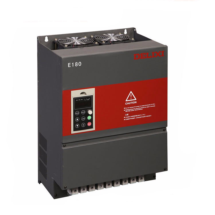 DELIXI 7.5kw 11kw 15kw single phase to 3 phase inverter 220v variable frequency drive converter