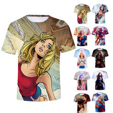 anime t shirt 2019 mens designer tee shirts with logo customize cartoon printed t shirt for Union Men and Women kaos distrokaos