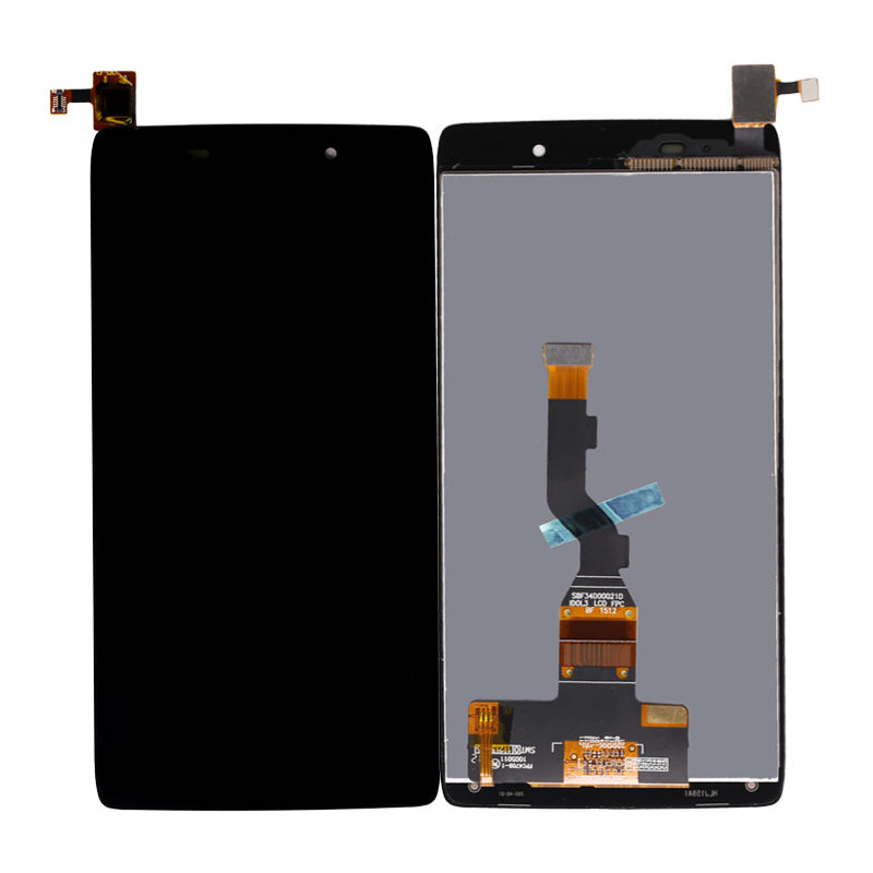 High Quality LCD Digitizer For Alcatel One Touch Idol 3 OT6039 6039 LCD Display Touch Screen Digitizer Assembly Replacement