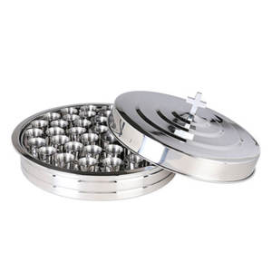 Gold /Silver 304 Stainless Steel Holy Communion 40 Cave Tray Set
