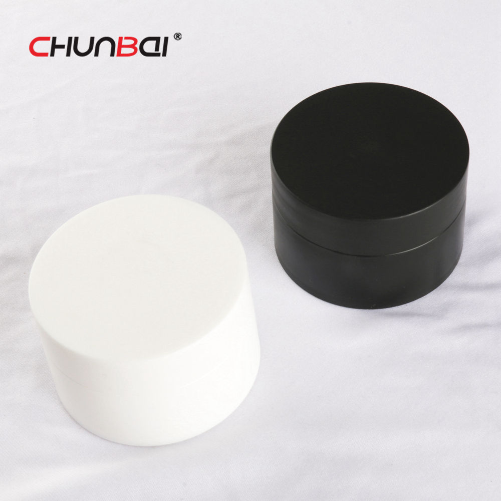 New fashion 5g 15g 20g 30g 50g PP matte black plastic cosmetic jar