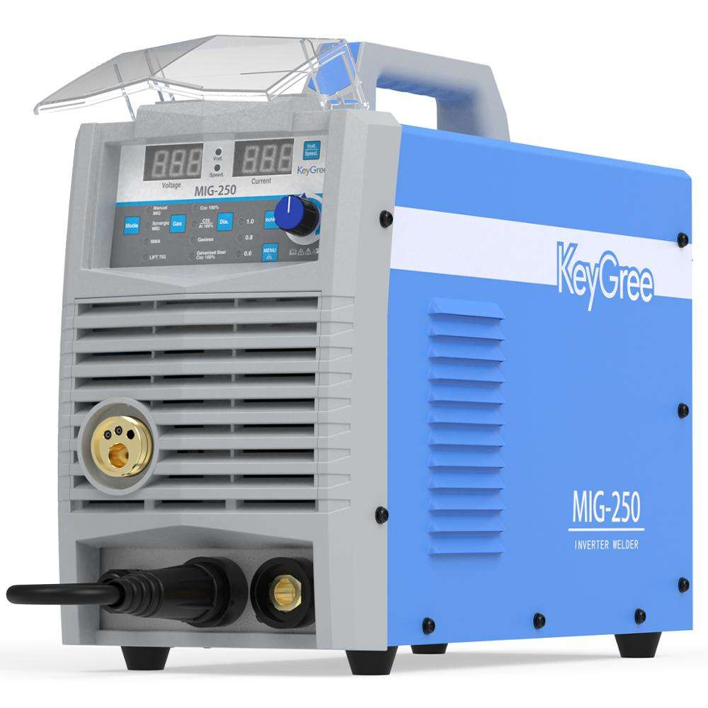 Welders Inverter Mig/Mma Welding Machin Mig Ac/Dc Machine 250A With Gasless Solid Wire For 1.2Mm Stainless Steel 160