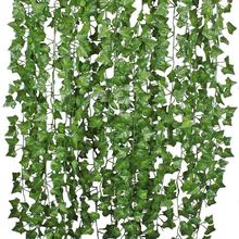 Amazon Artificial Ivy Garland For Wedding Party Garden Outdoor Greenery Wall Decoration