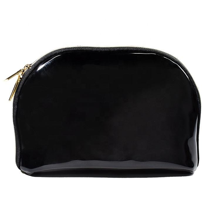 Latest News Customizable Private Label Makeup Bag Set Black Bulk Cosmetic Bags Wholesale