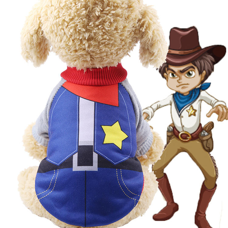 uniforms costume funny dog cat clothing supplies pet winter warm hoodies biped design clothing