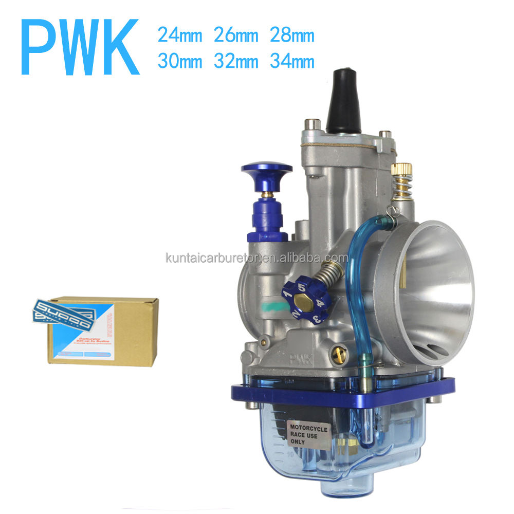 BLUE BOWL PWK 28MM 30MM 32MM 34MM CARBURETOR FOR KEIHIN HONDA YAMAHA KAWASAKI SUZUKI SODCO RACING 125-350CC ATV MOTORCYCLE CARB
