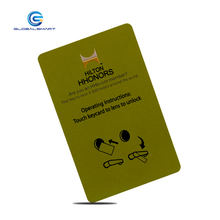 Custom universal hotel key card smart saflok cards