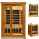 hot sale modern far infrared fashion nudist sauna room