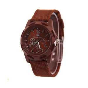 Hot sale products 5 Colors Men Sport Military Army Pilot Fabric Strap Military Watch