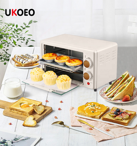 UKOEO 11L convection baking toaster electrical oven small appliances cooking 750W household mini bread oven