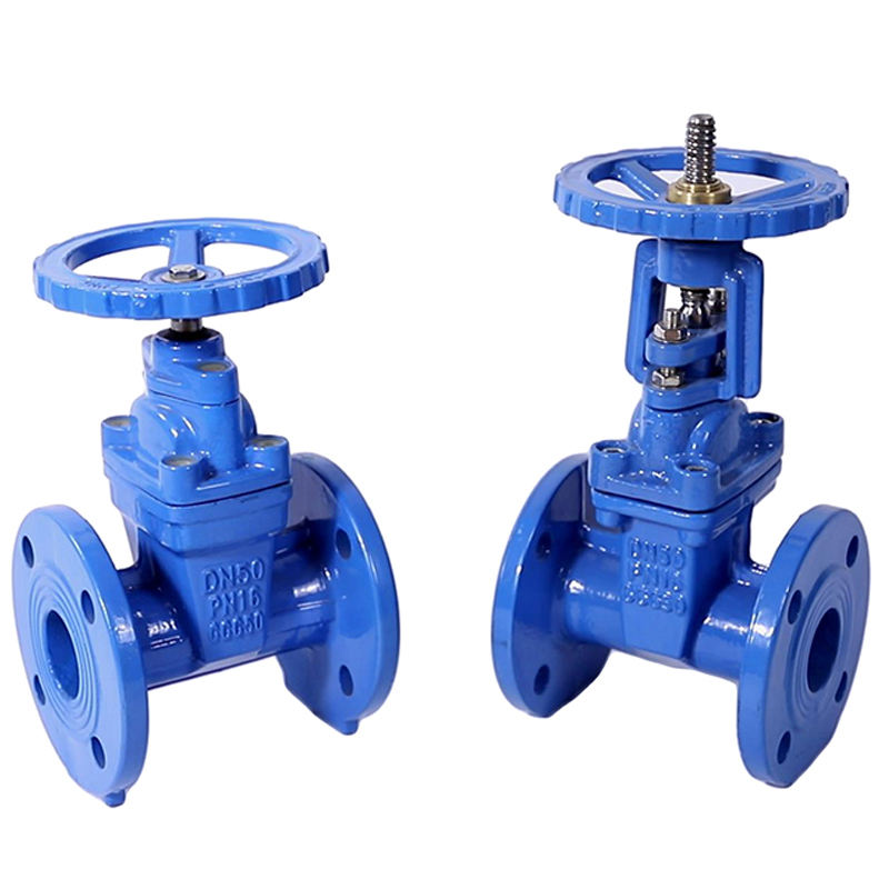 MADE IN CHINA PN10 PN16 Z45X BS5163 Soft Seal flange ductile iron gate valve