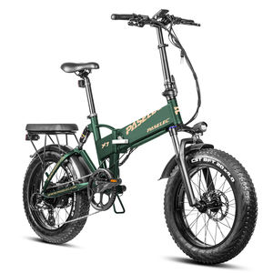 PASELEC PX7 Plus best ebike 750W Fat Tire Folding Electric Bicycle 20 Inch 4.0 Electric Bikes for Adults