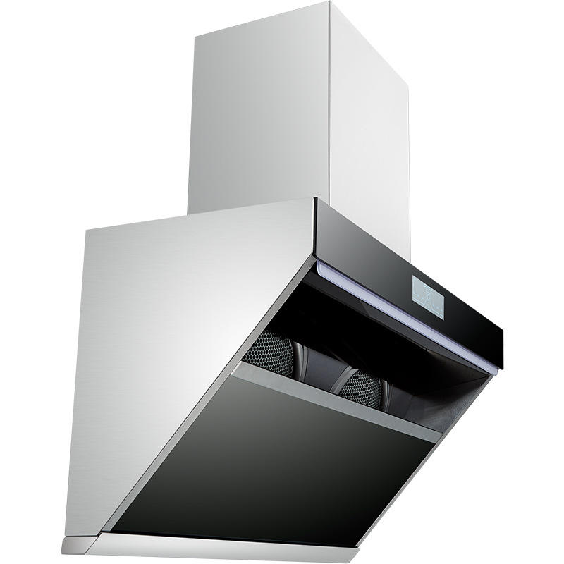 New Design Super Slim Auto Cleran Stainless Steel Kitchen Chimney Range Hood