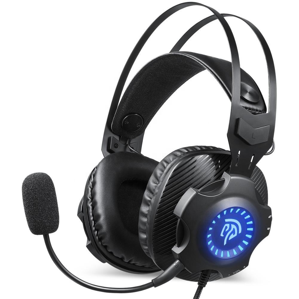 EasySMX VIP 003S Mic detachable RGB breathing light Gaming headset
