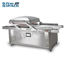 DZ-780 Double Chamber Meat Vacuum Packaging Machine Packing