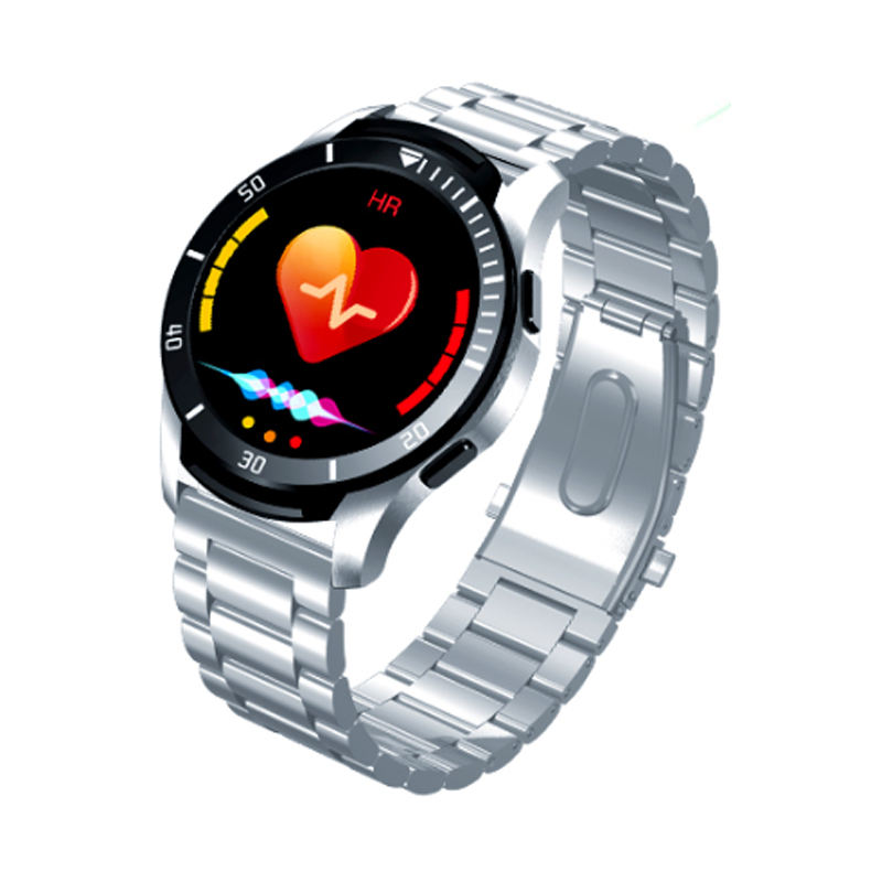Best Selling Custom Cirkel Full Touch Effen Gps Tracking Record Gps Rvs Smart Horloge