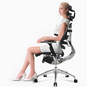 Full Imported Quality Mesh High Back Adjustable Ergonomic Chair Office Customized Best Ergonomic Office Chair