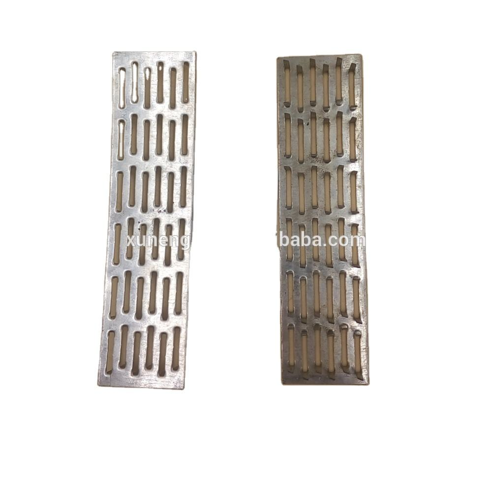 Alibaba China iron plate nail, gang nail plate for roof trusses/Wood Connector Perforated Nail Plate