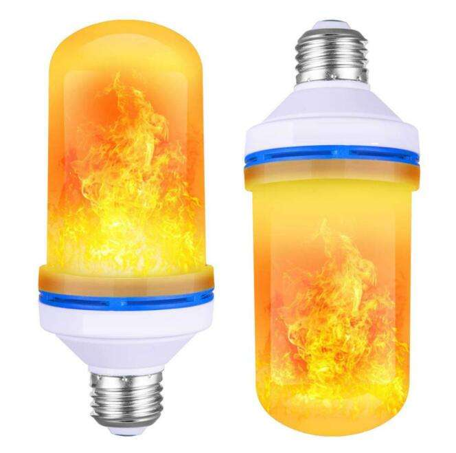 LED Flame Lamp E27 E26 B22 Light Bulb Flame Effect Fire Lamps led flame bulb for for Halloween Decorations