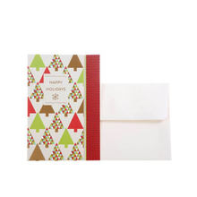 Merry Christmas Greeting Cards Collection Customized Christmas Trees Greeting Cards