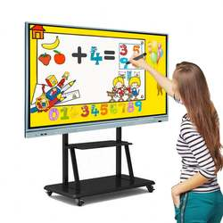 Smart Presentation 100 Inch Dual Touch Smart Interactive Whiteboard For Learning