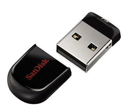 100% original Sandisk Cruzer Fit CZ33 8GB 16GB 32GB 64GB USB 2.0 Flash Drive-SDCZ33 for notebooks tablets TV's car audio systems